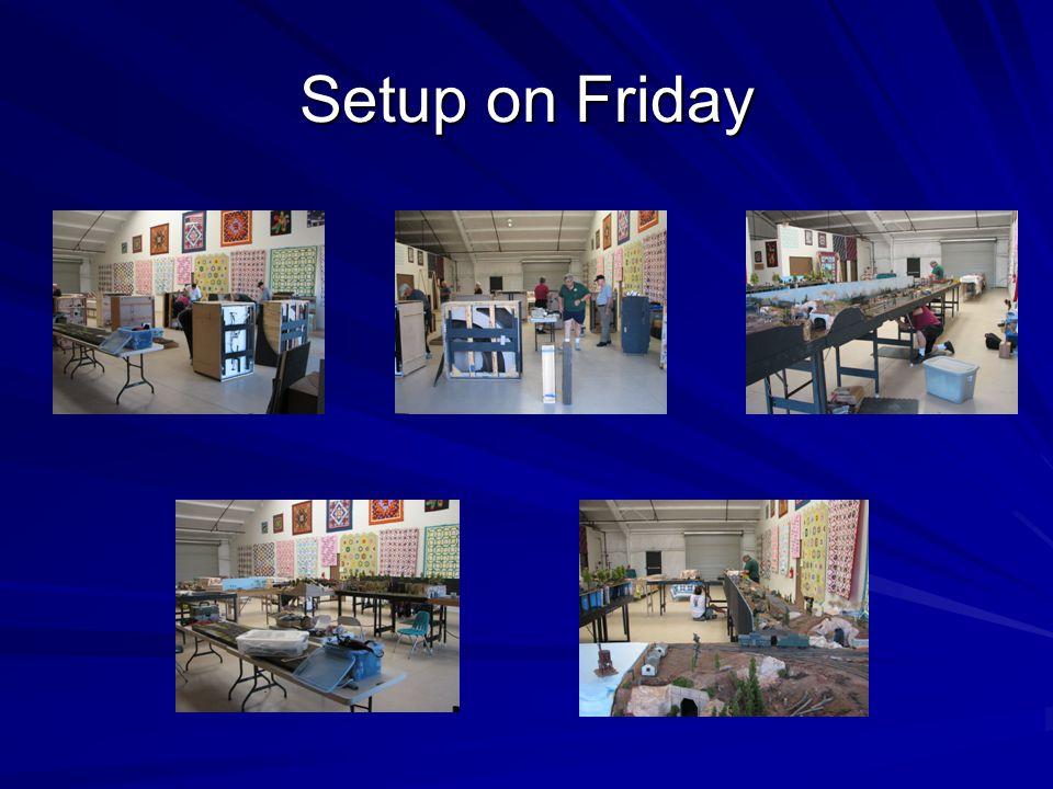 Setup on Friday