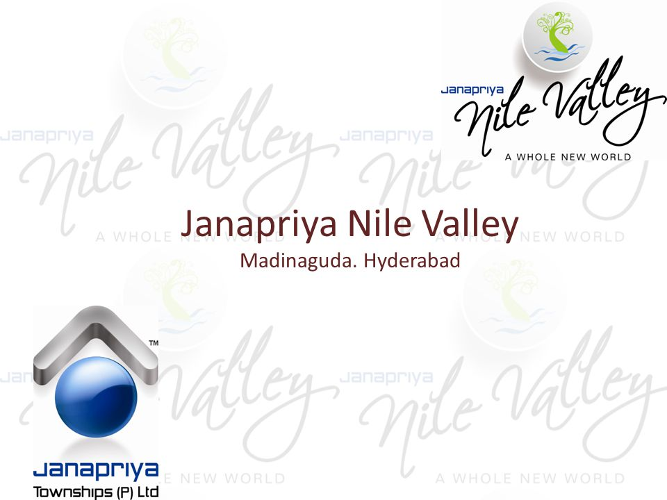 Located at Madinaguda near Miyapur and spread over 25 acres, at Nile valley you'll find space for the best things in life.