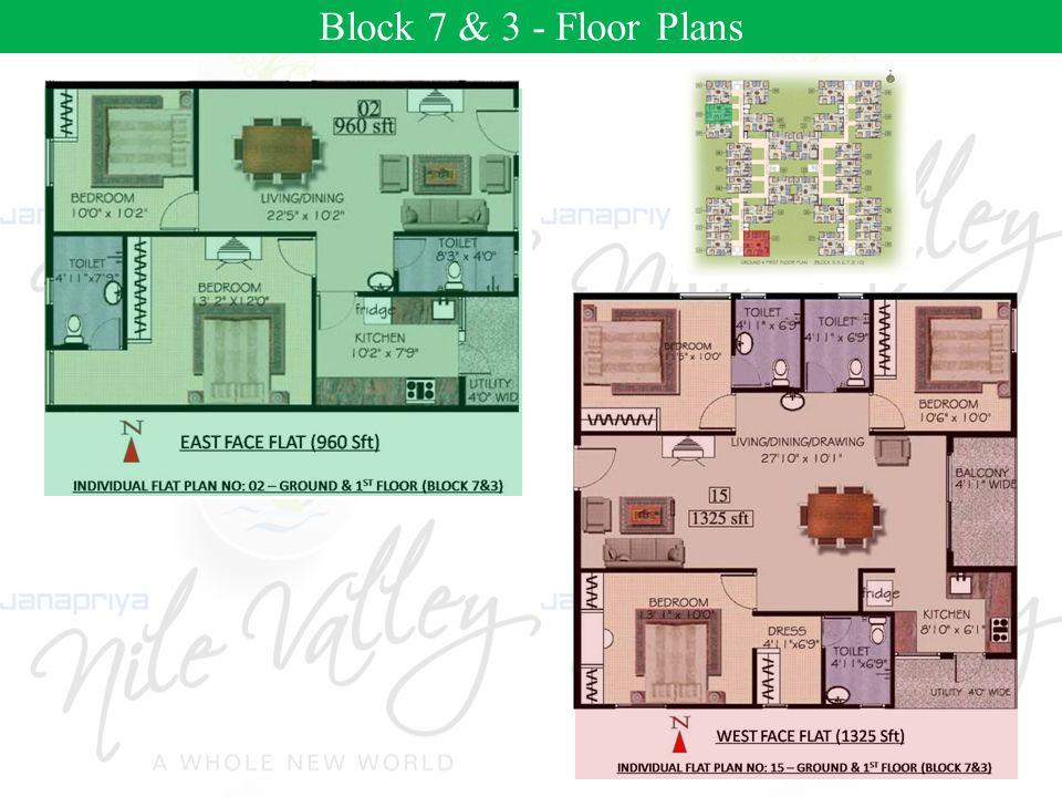 Block 2- Floor Plans