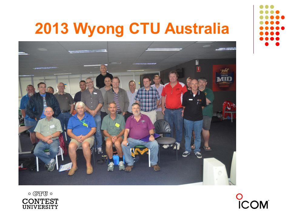 2013 Wyong CTU Australia