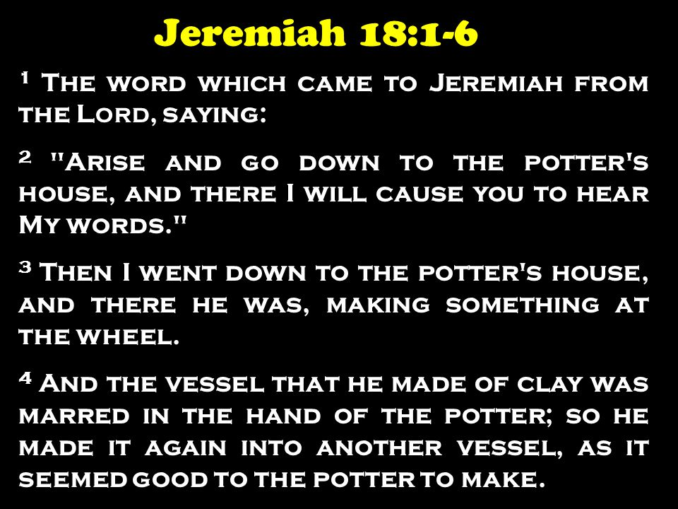 1 The word which came to Jeremiah from the L ORD, saying: 2
