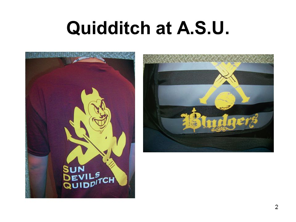 Quidditch at A.S.U. 2