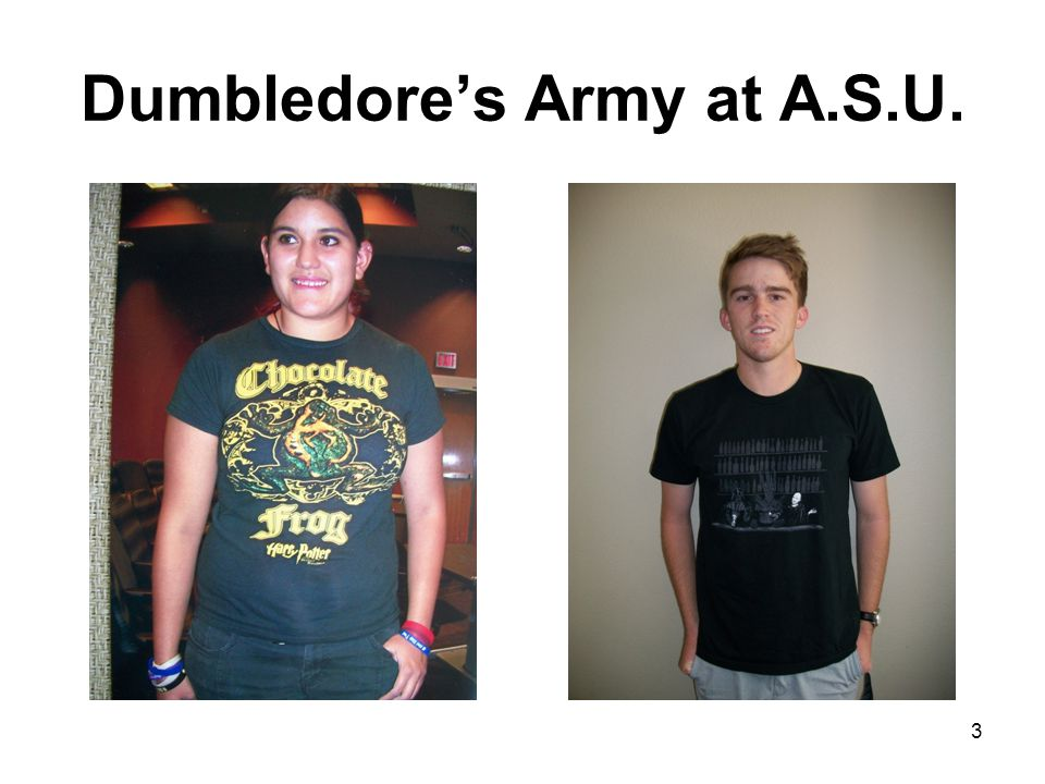 Dumbledore's Army at A.S.U. 3