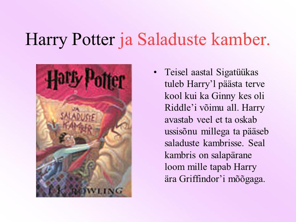 Harry Potter ja Saladuste kamber.