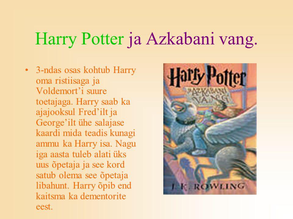 Harry Potter ja Azkabani vang.