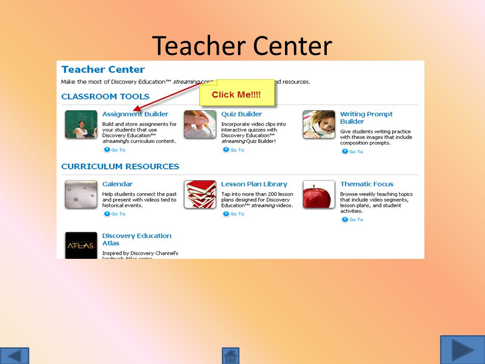 Teacher Center Assignment Builder Quiz Builder Writing Prompt Take it to the next level of learning…