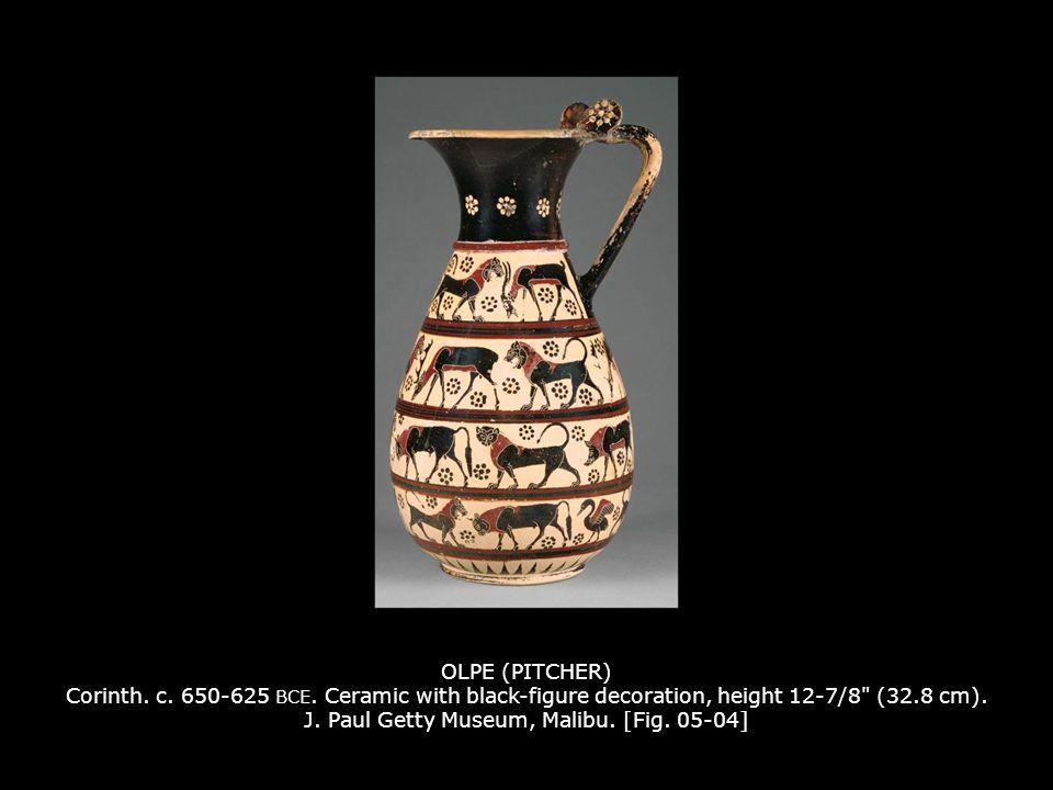 OLPE (PITCHER) Corinth.c. 650-625 BCE.