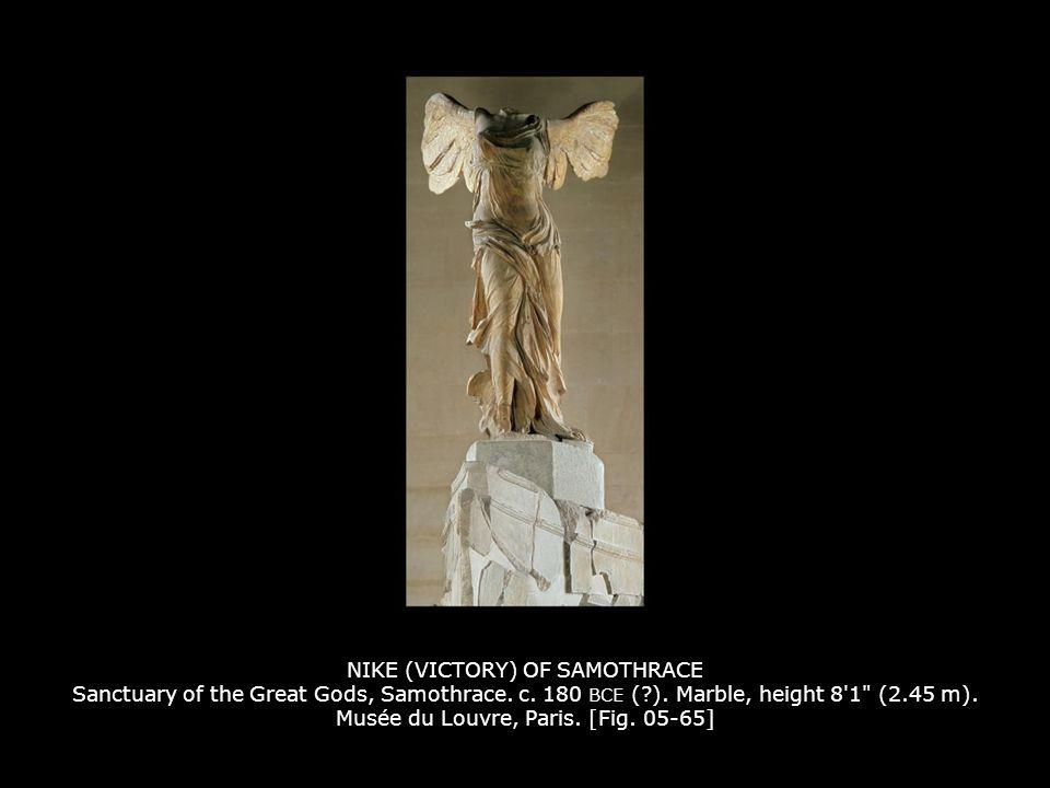 NIKE (VICTORY) OF SAMOTHRACE Sanctuary of the Great Gods, Samothrace.