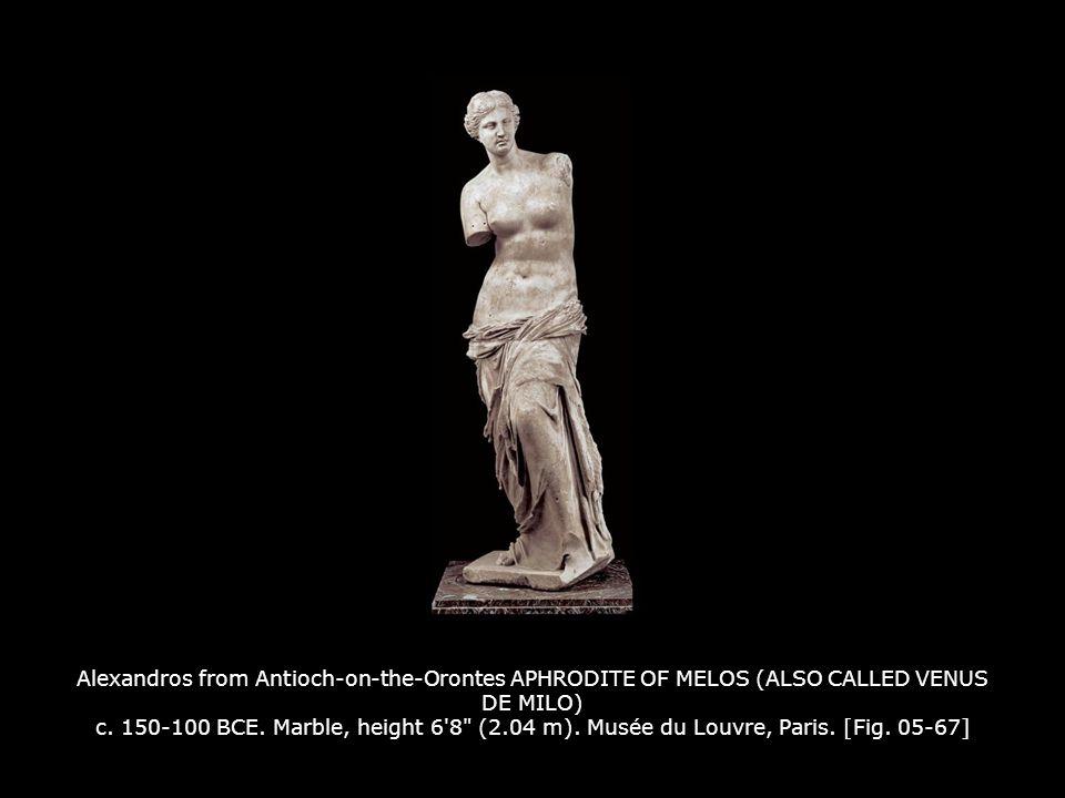 Alexandros from Antioch-on-the-Orontes APHRODITE OF MELOS (ALSO CALLED VENUS DE MILO) c.