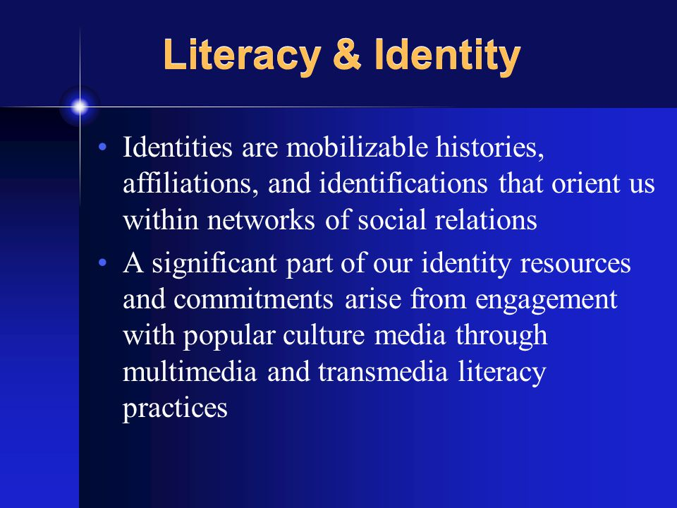 Media and Markets Popular culture media offer and project not just possible identities, but systems of related identities Consumer markets are increasingly produced and defined through such systems of differentiated and hierarchically valued identities Identity Markets [cf.