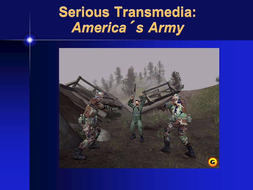 Serious Transmedia: America´s Army