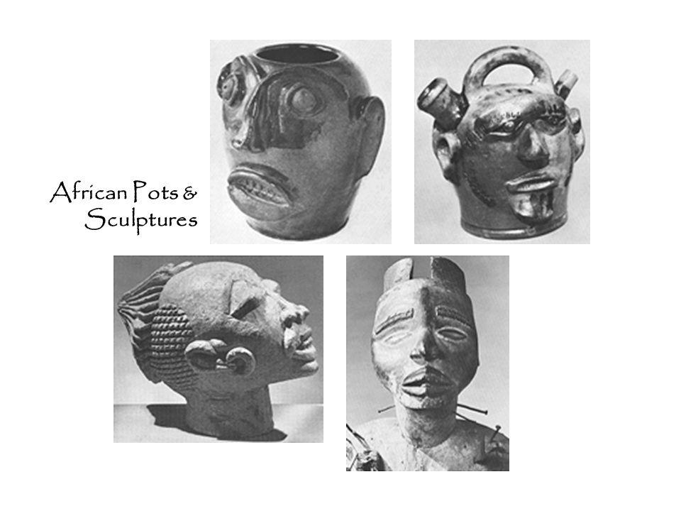 African Pots & Sculptures