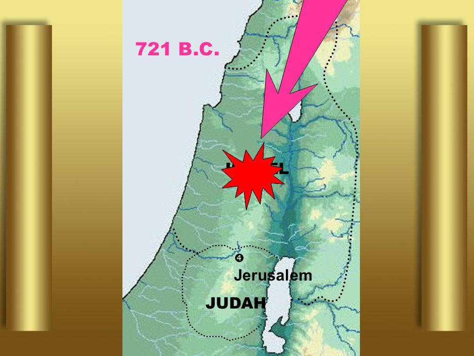  Jerusalem ISRAEL JUDAH 721 B.C.