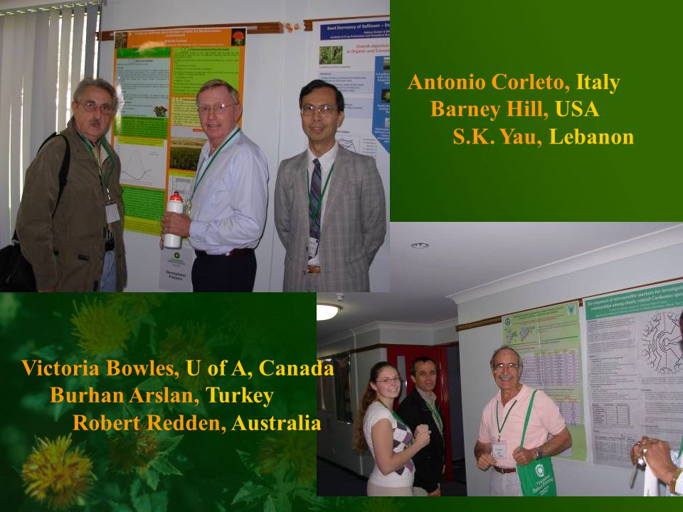Antonio Corleto, Italy Barney Hill, USA S.K.