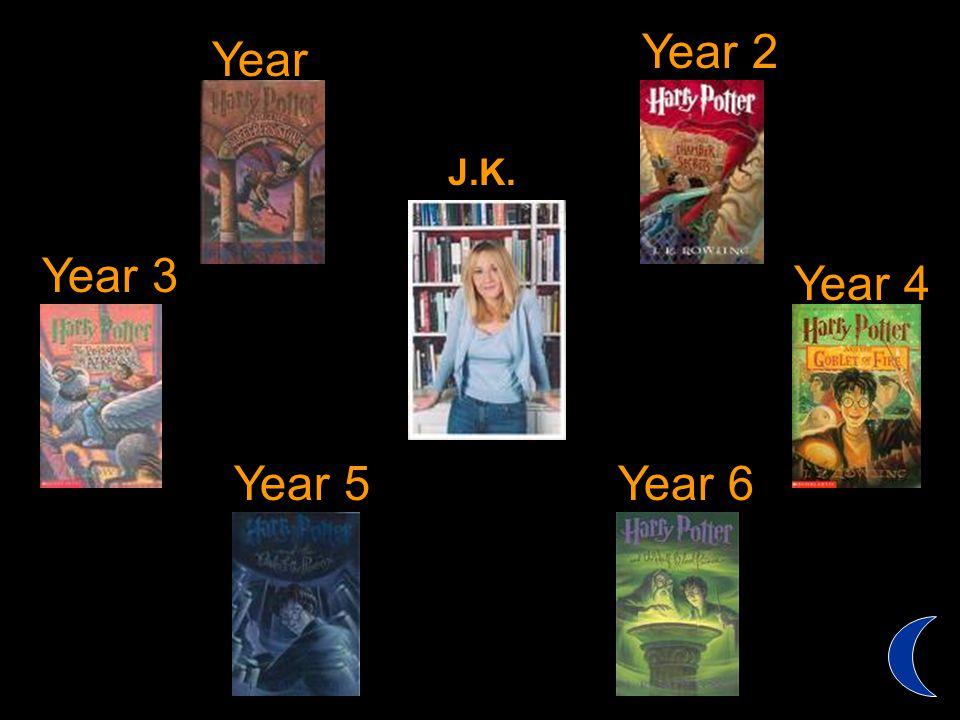 Year 1 Year 6 Year 3 Year 2 Year 4 Year 5 J.K. Rowling