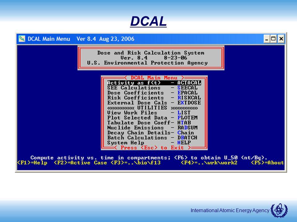 International Atomic Energy Agency DCAL