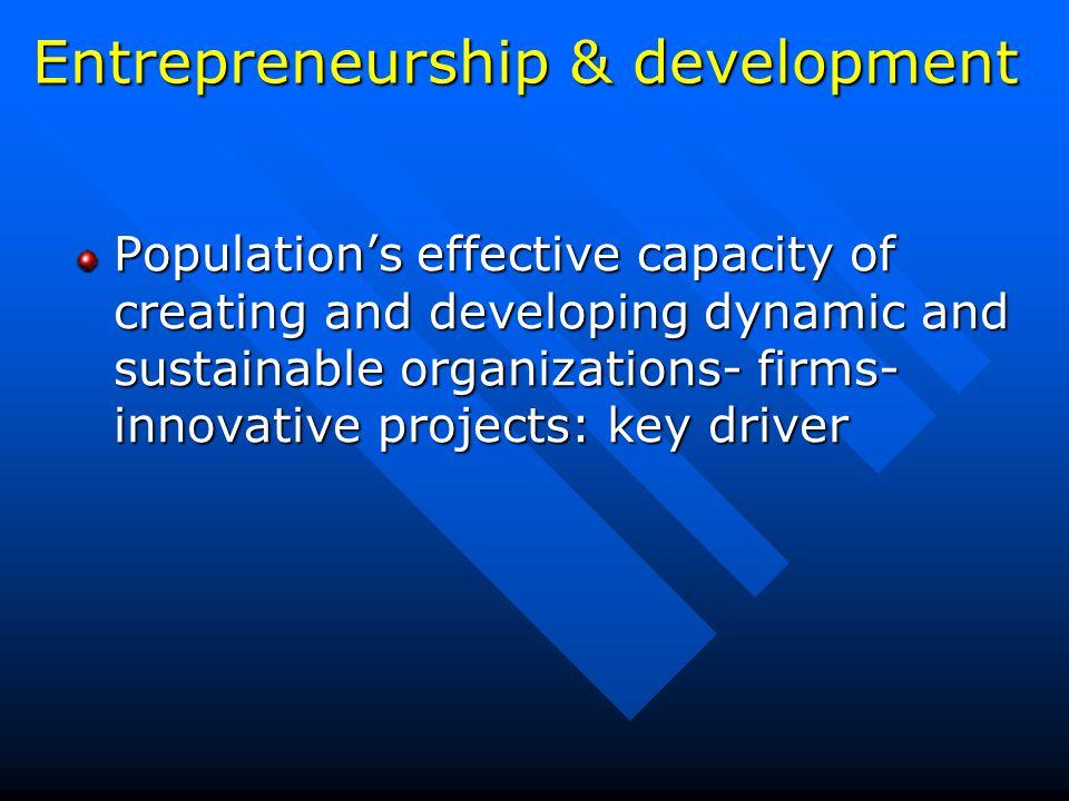 D) Generic policies? High growth policies? Dynamic entrepreneurship policies?