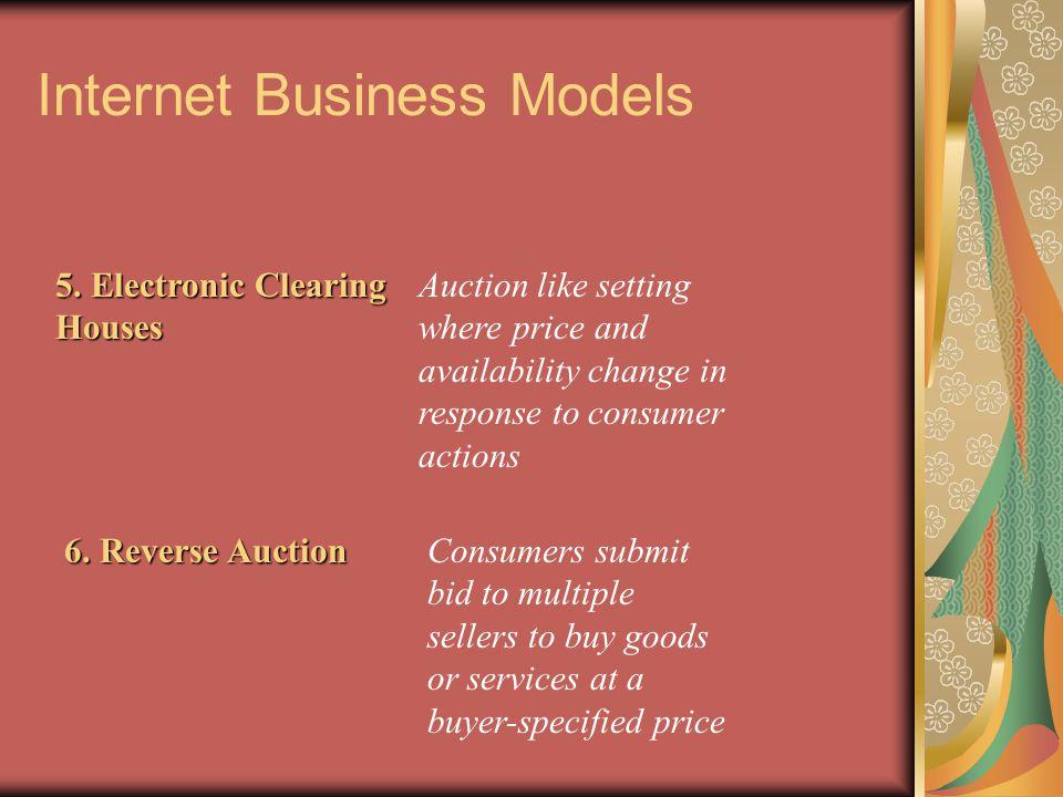 Internet Business Models 5.