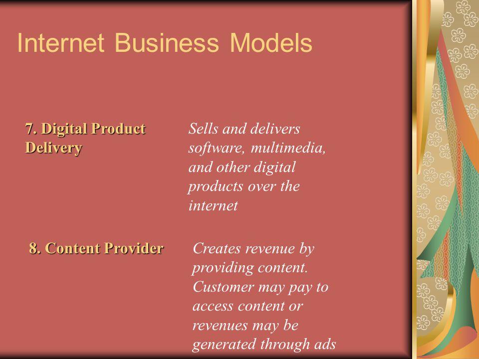 Internet Business Models 7.
