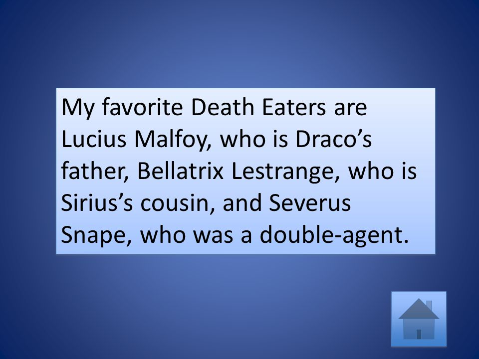 Harry Potter is a fun book series It has magic, interesting characters, and an intriguing plot.