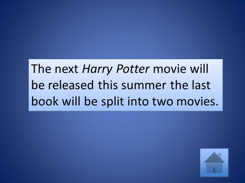 My favorite Harry Potter book is the last one moreover, my favorite chapter in that book is The Prince's Tale.