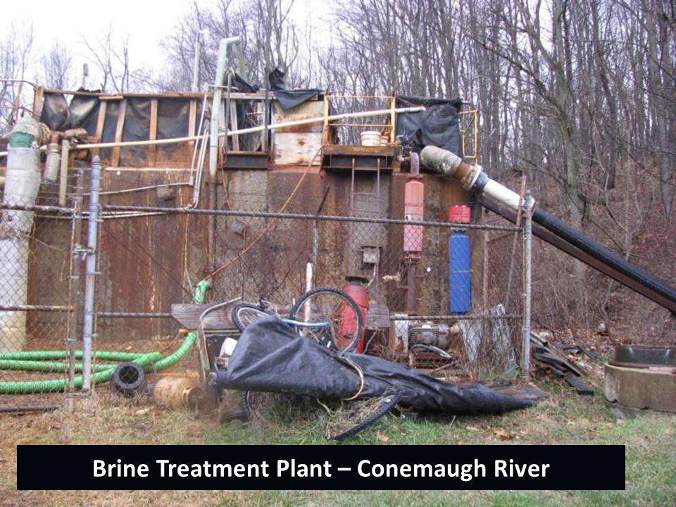 Brine Treatment Plant – Conemaugh River