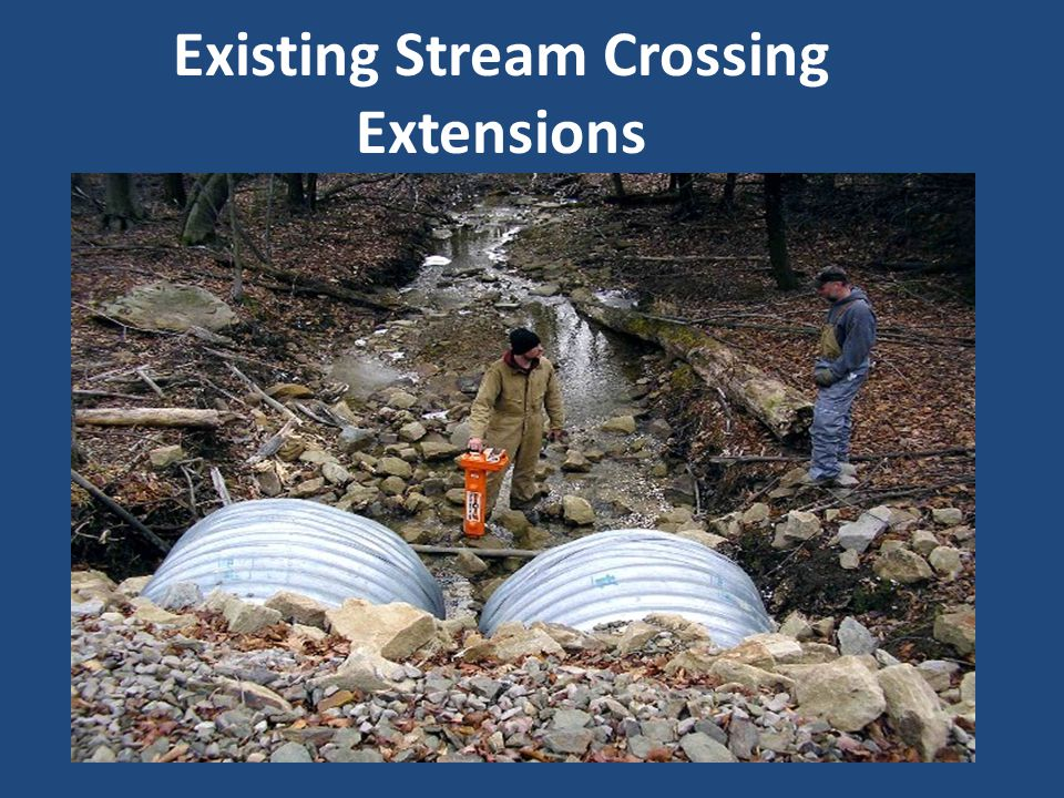 Existing Stream Crossing Extensions