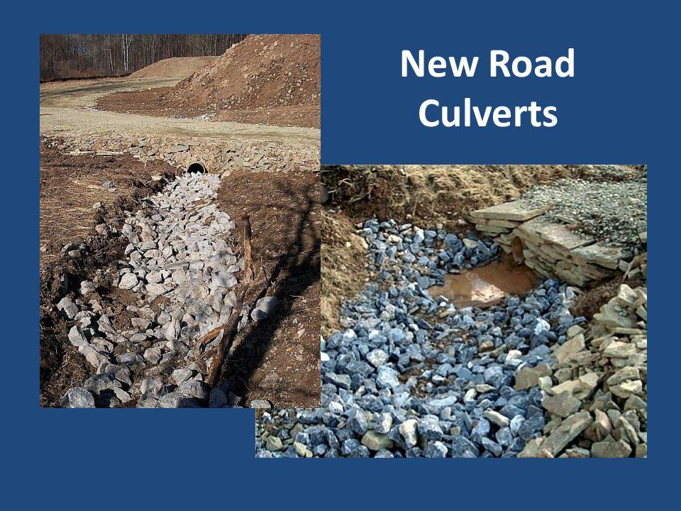 New Road Culverts