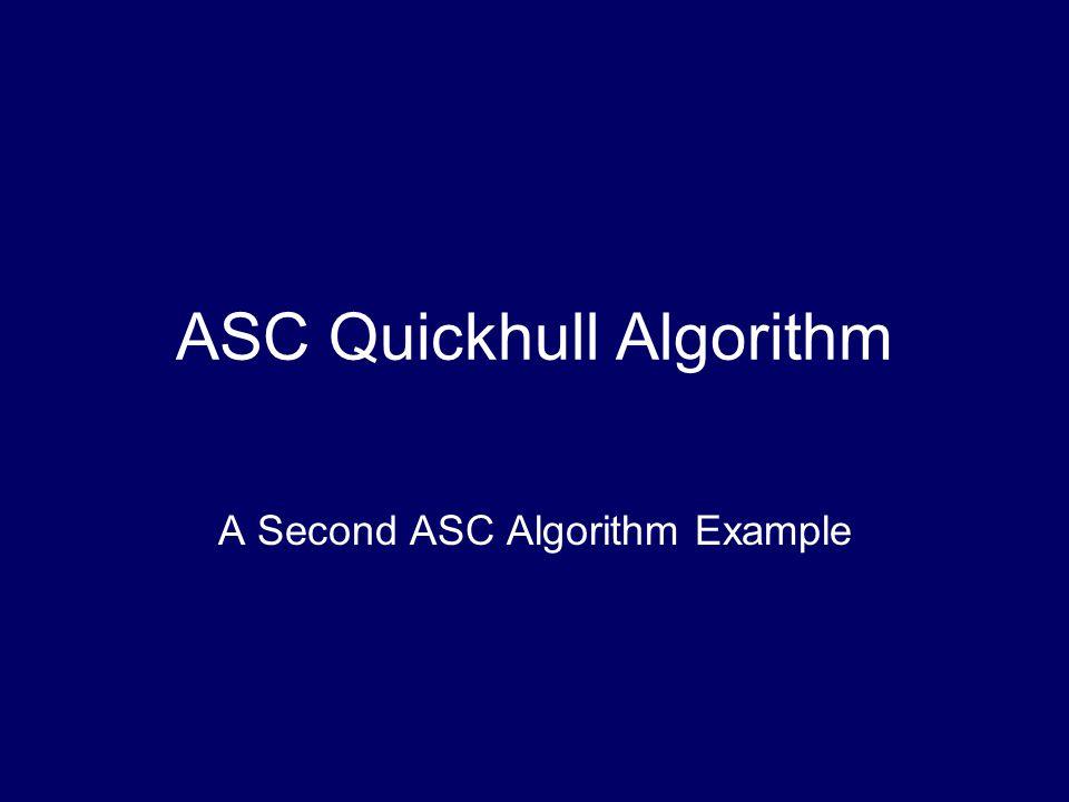 ASC Quickhull Algorithm A Second ASC Algorithm Example