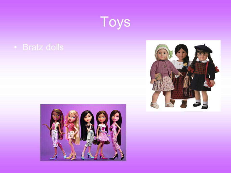 Toys Bratz dolls