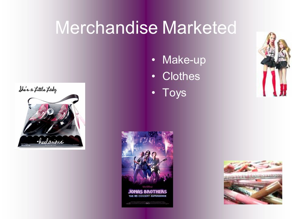 Merchandise Marketed Make-up Clothes Toys