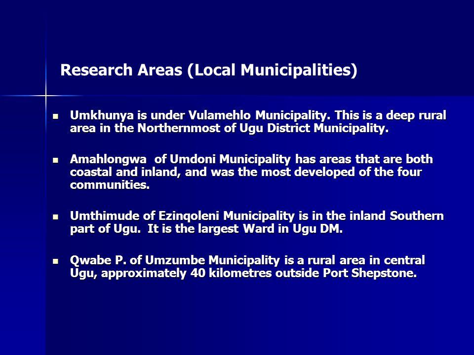 Umkhunya is under Vulamehlo Municipality.