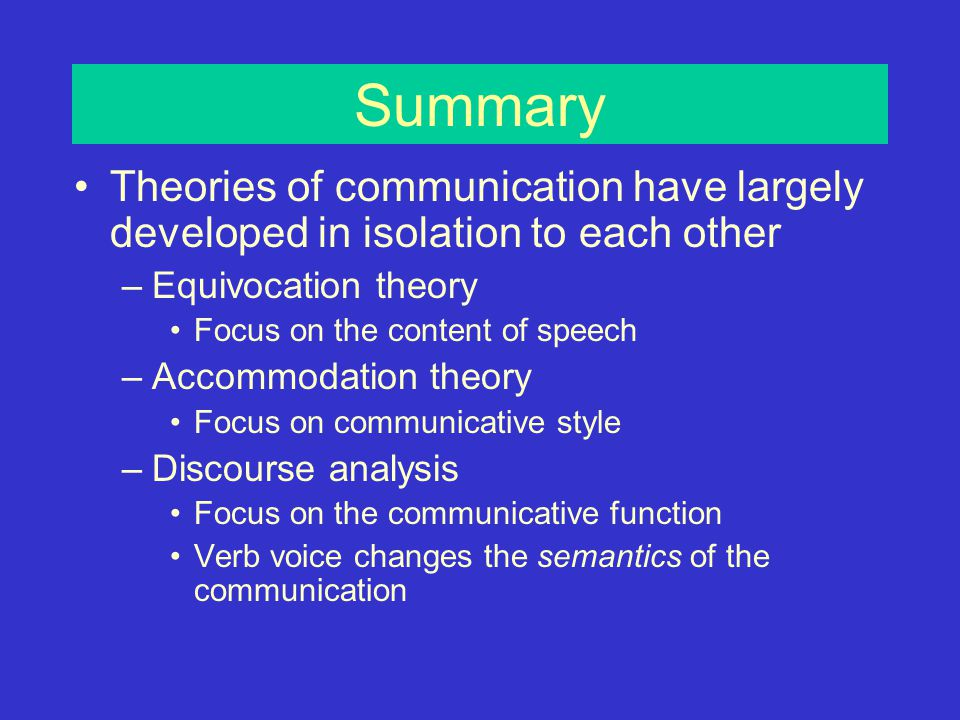 Agency and the passive voice (Henley et al., 1995) Active voice –In the U.S.
