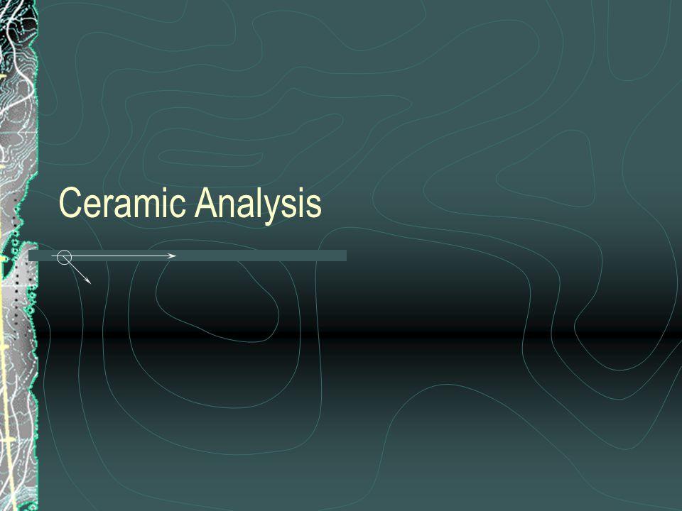 Ceramic Analysis
