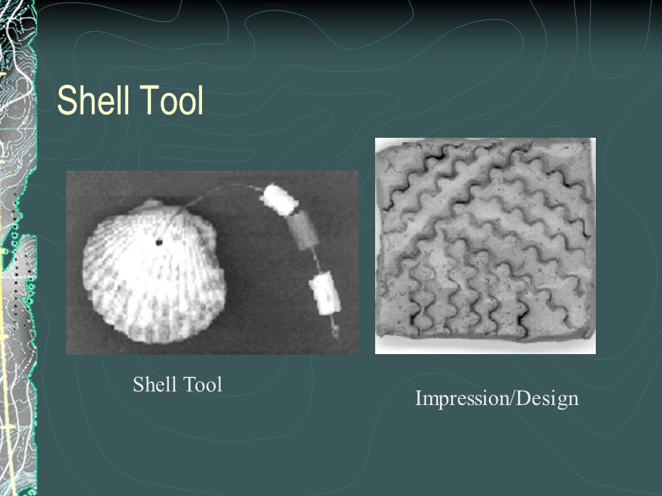 Shell Tool Impression/Design