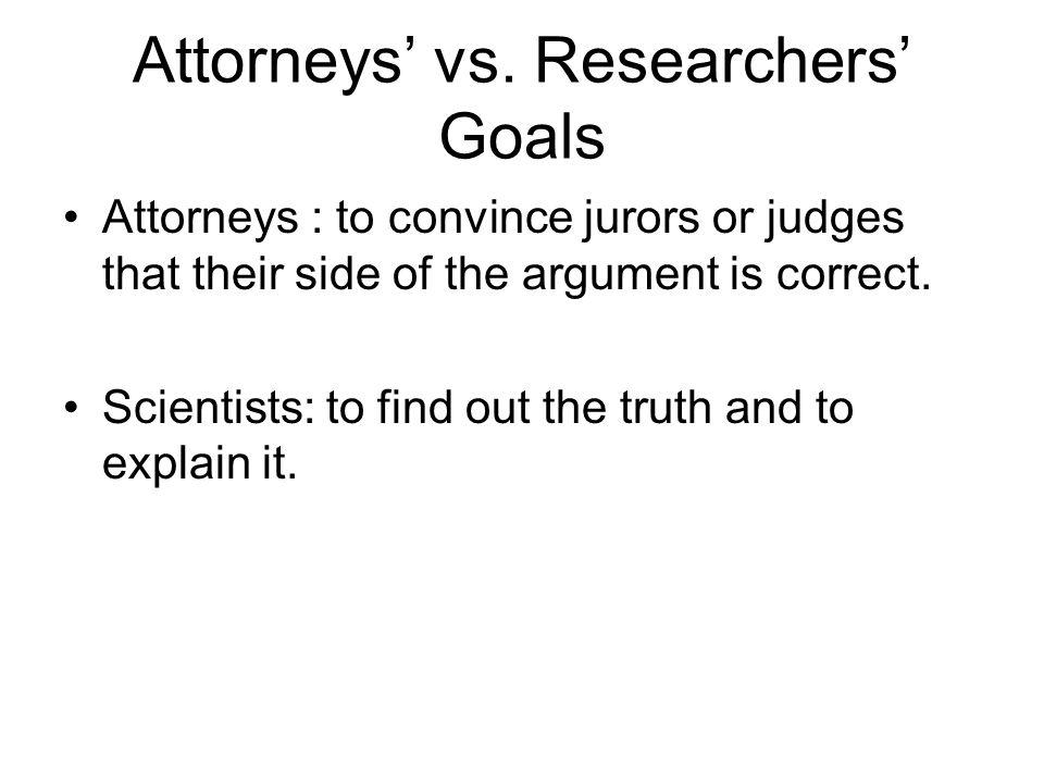 Attorneys' vs.
