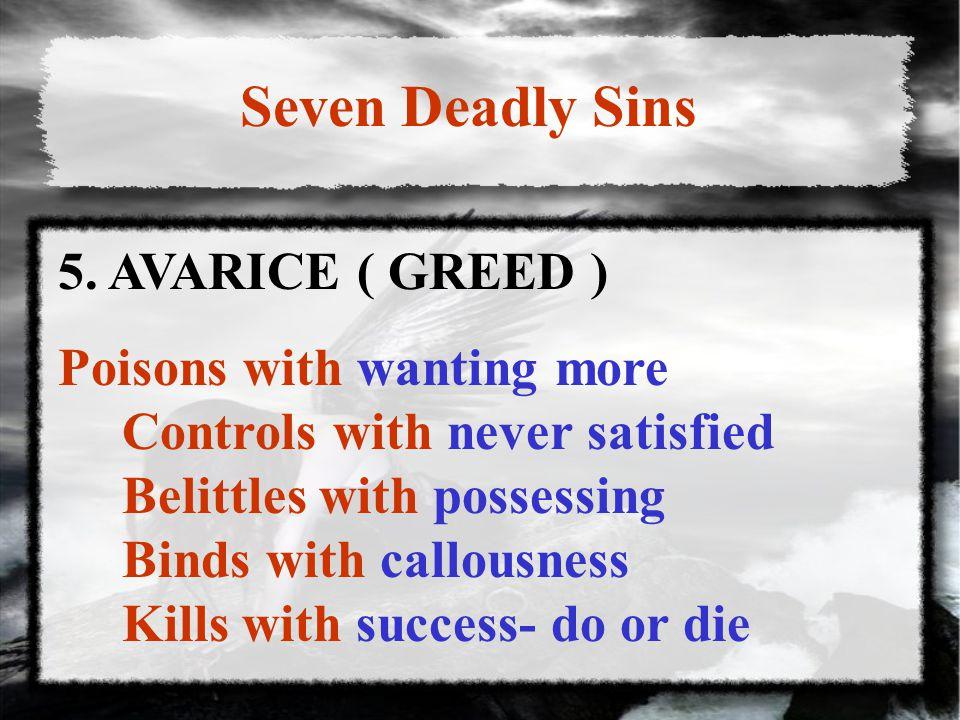 Seven Deadly Sins 5.