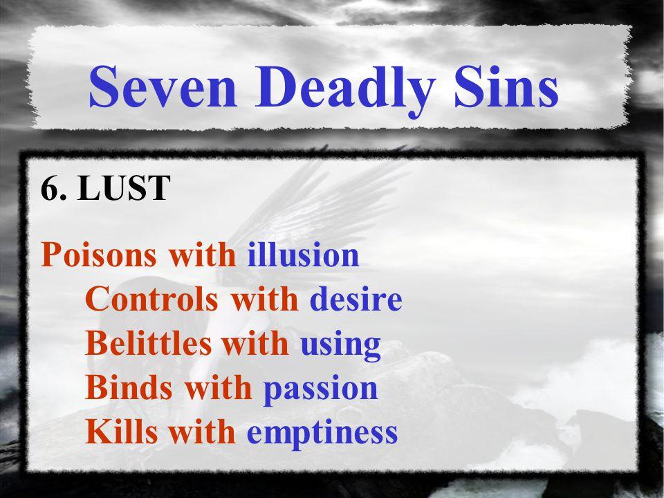 Seven Deadly Sins 6.