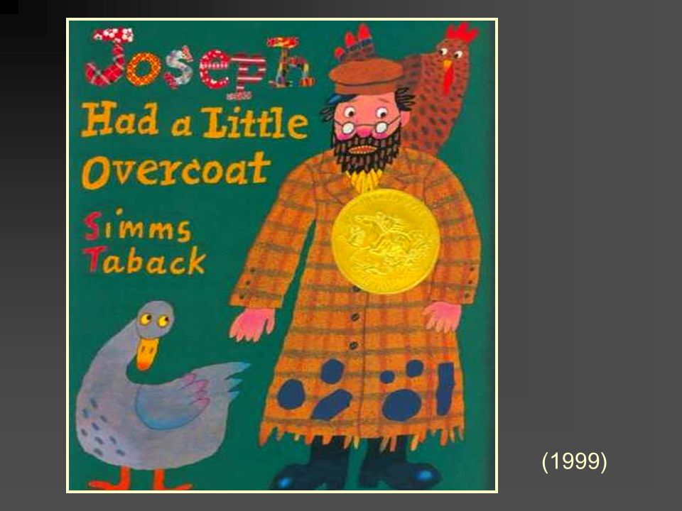 Joseph Had a Little Overcoat by Simms Taback (1999)