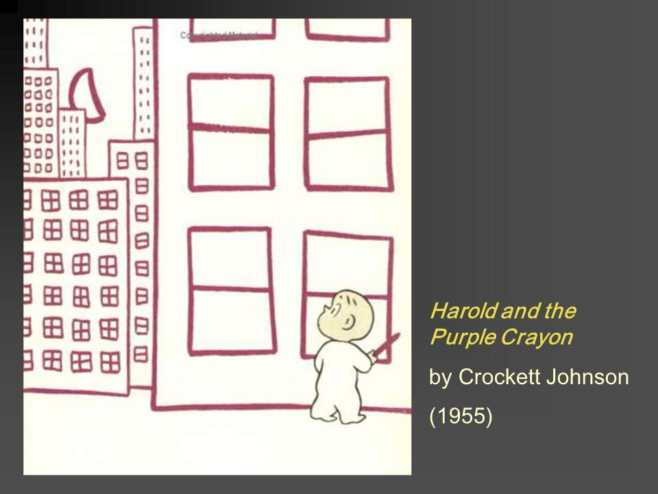 Harold and the Purple Crayon by Crockett Johnson (1955)