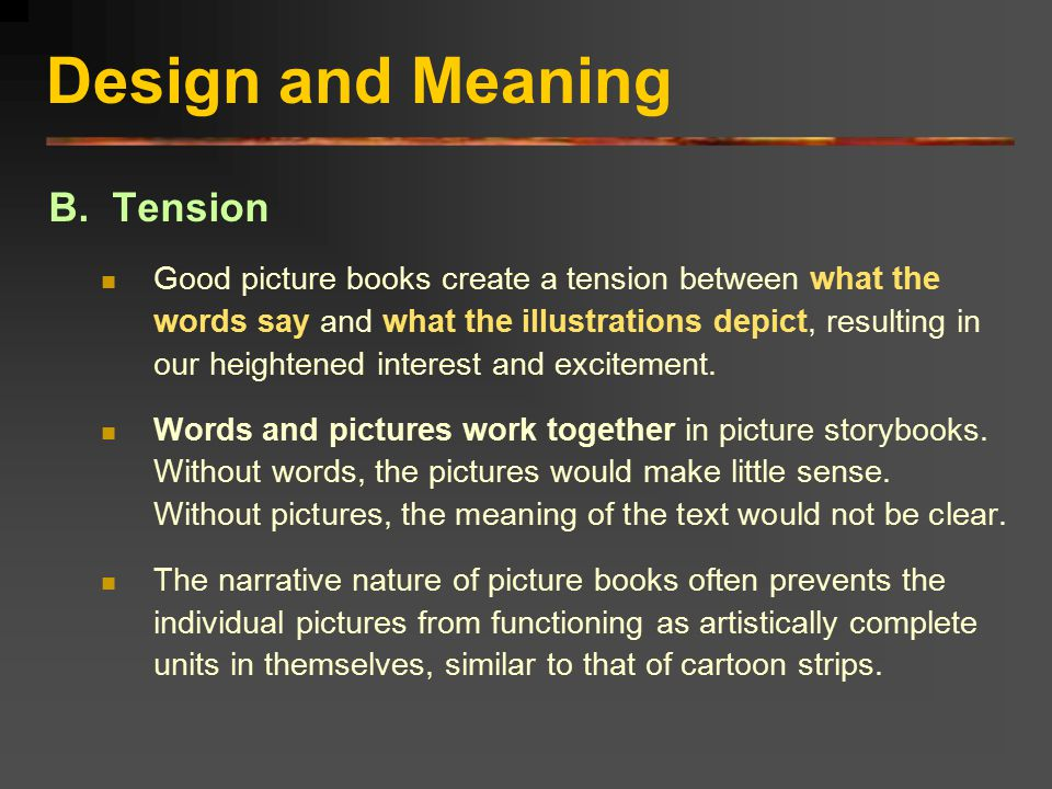Design and Meaning C.