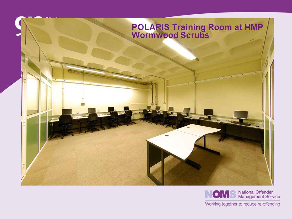 POLARIS Training Room at HMP Wormwood Scrubs