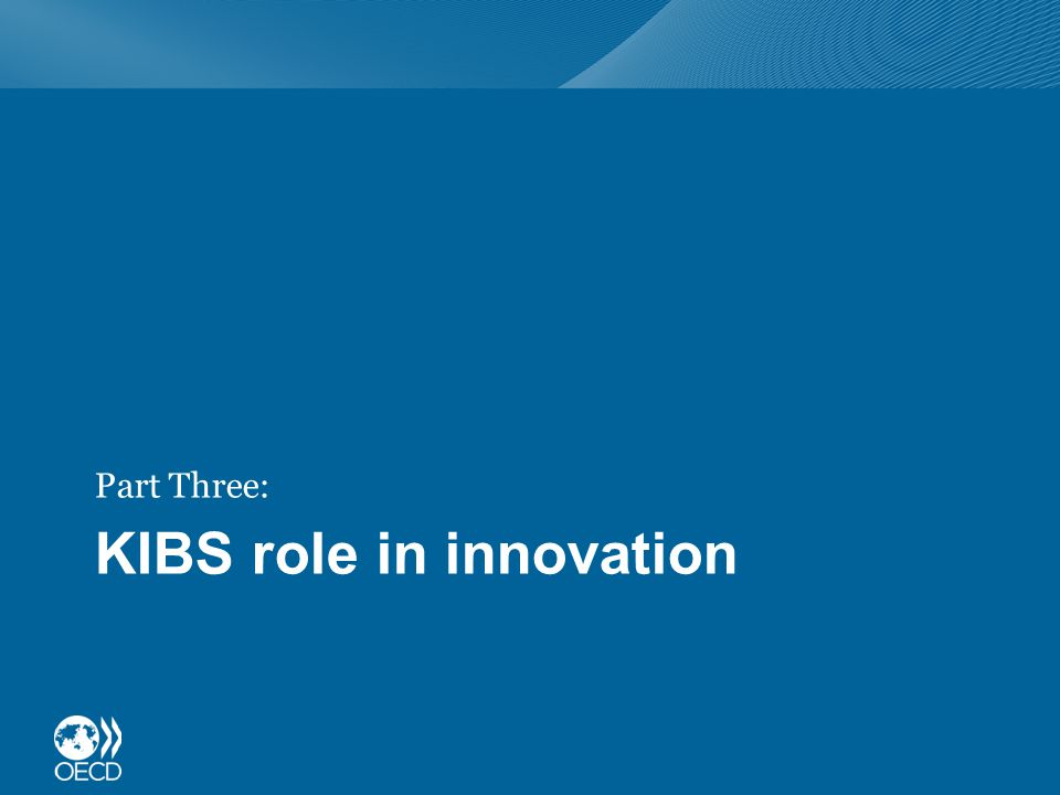 KIBS role in innovation Part Three: