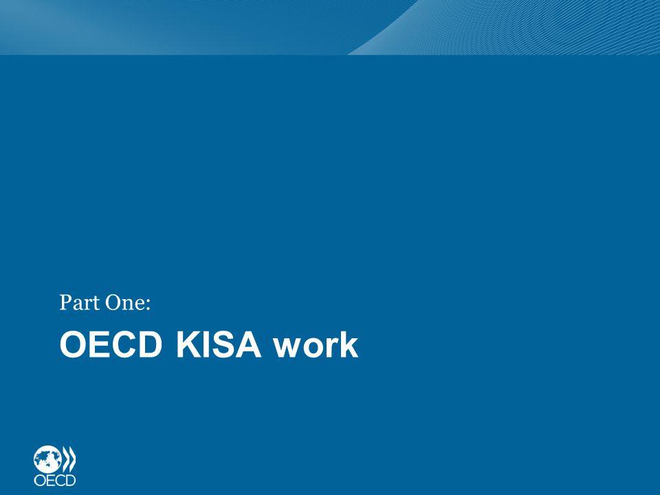 OECD KISA work Part One: