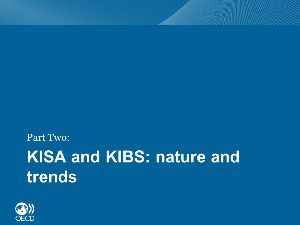 KISA and KIBS: nature and trends Part Two:
