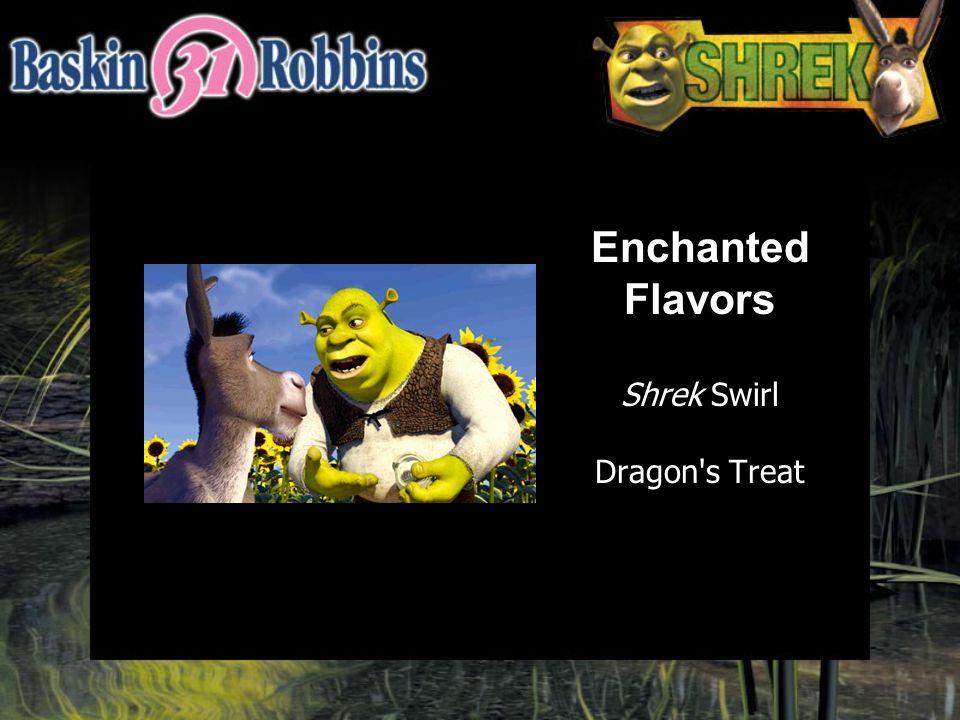 Enchanted Flavors Shrek Swirl Dragon s Treat