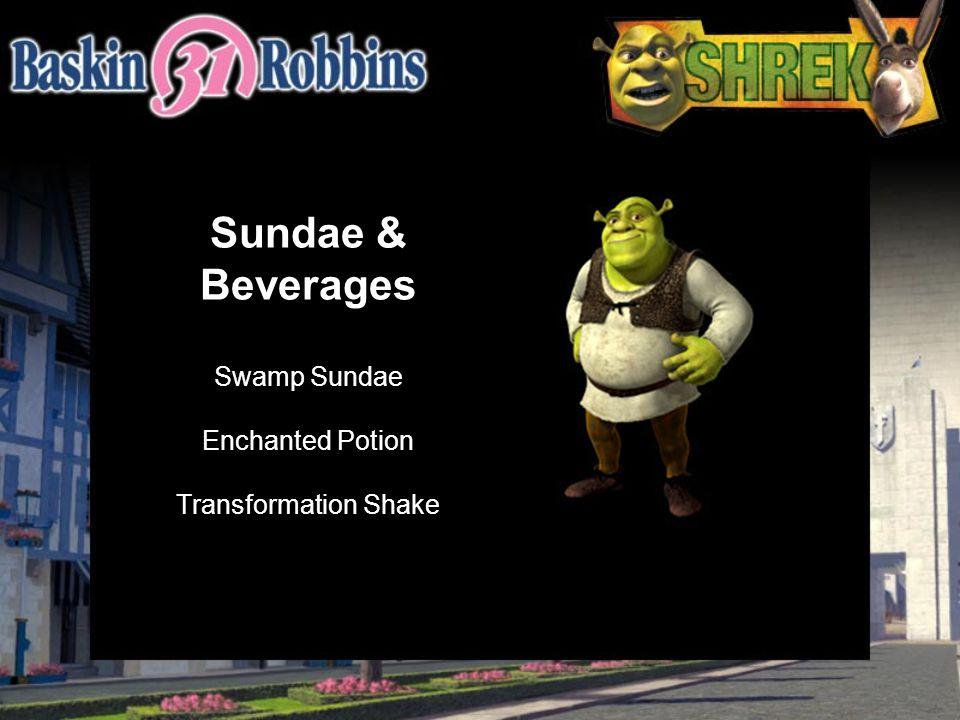 Sundae & Beverages Swamp Sundae Enchanted Potion Transformation Shake