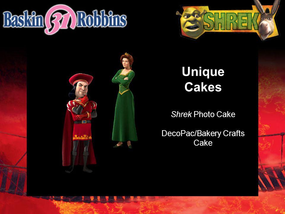 Unique Cakes Shrek Photo Cake DecoPac/Bakery Crafts Cake