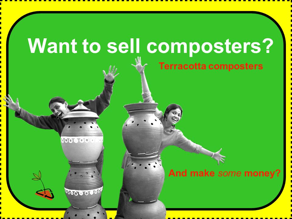 Want to sell composters And make some money Terracotta composters