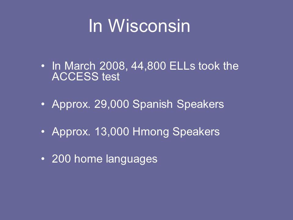 Wisconsin's State Data